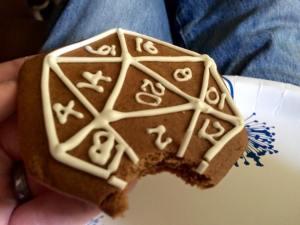 Yes, I eat nerd cookies.