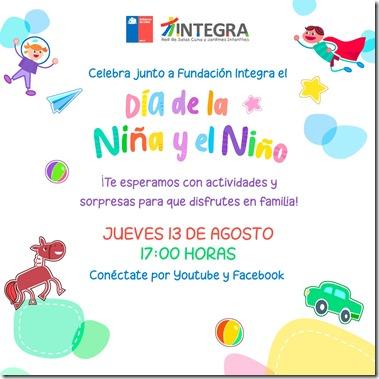 INVITACIÓN DÍA DEL NIÑO