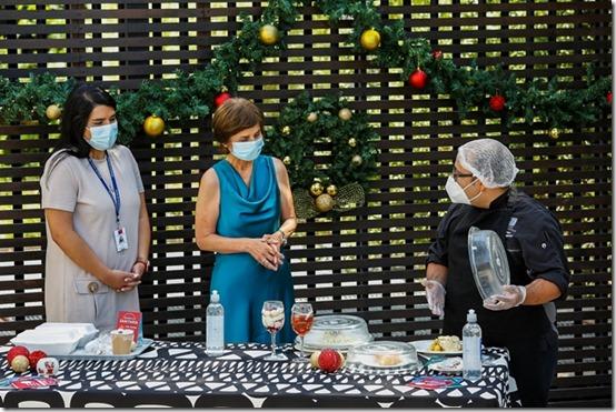 Miércoles 23 de diciembre 2020 Residencias Sanitarias para ver y conocer las actividades que se realizaran para Navidad Fotos: Alejandra De Lucca V. / Minsal 2020