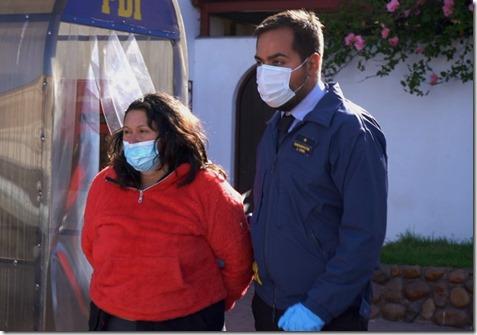 foto detenida crimen Islón