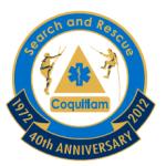 Coq SAR 40th anniversary logo