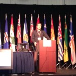 Mike Coyle speaking at SARScene 2013 on Integrating Technology in SAR