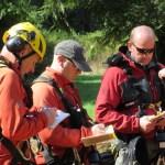 The pre-rescue briefing