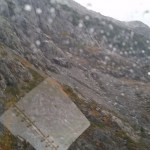 Rugged terrain and bad weather
