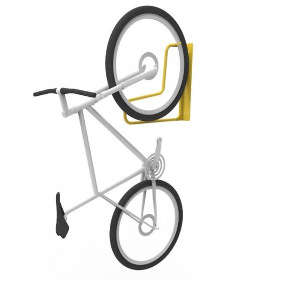e3vr f vertical wall mounted bike rack