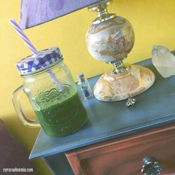 Suco Mágico Verde - Diário de uma Vegana - Alana Fox