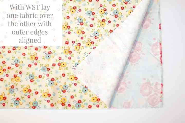 lay-flannel-fabric-wrong-sides-together