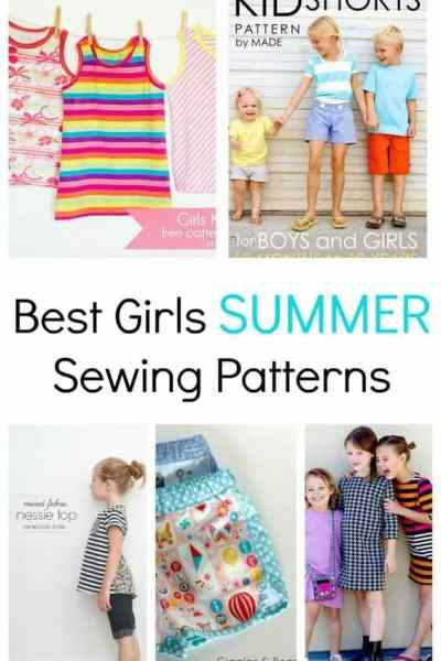 Best Girls Summer Sewing Patterns You Will Love to Sew