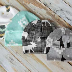 DIY Baby Hat Sewing Pattern and Tutorial in sizes Preemie – 12 Months