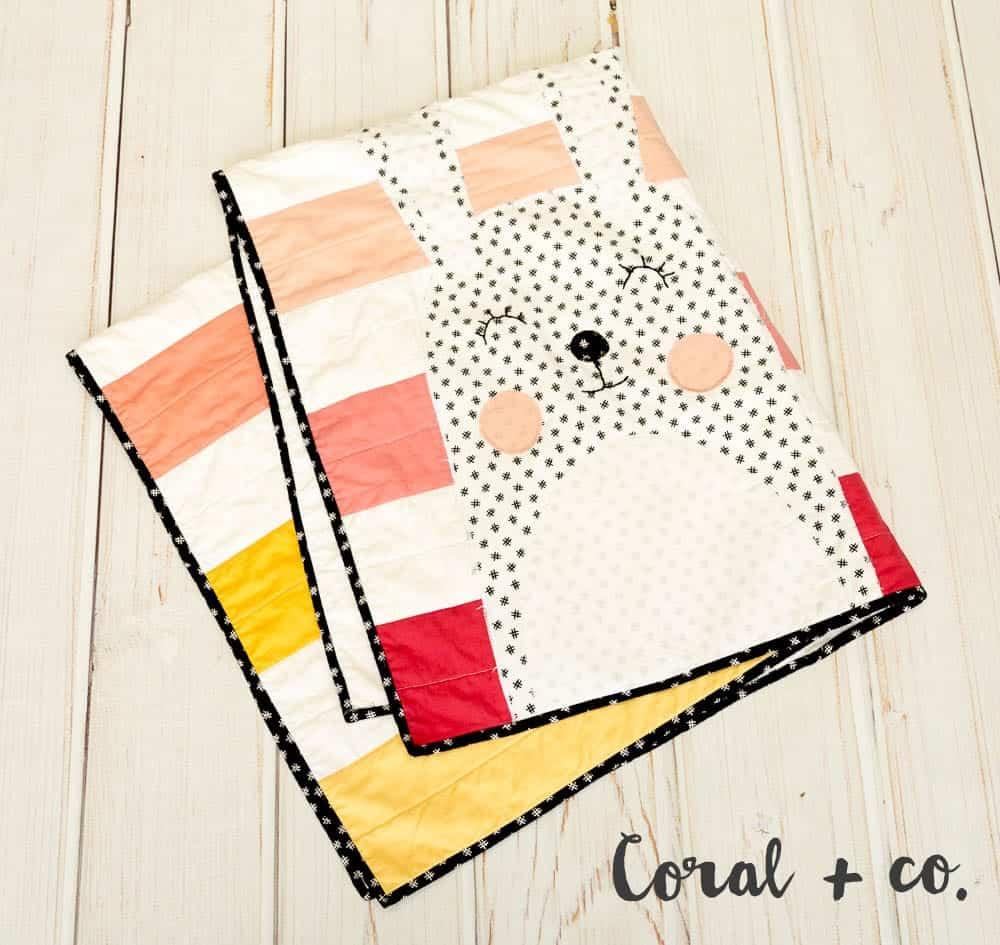 Modern Baby Quilt Pattern - A Modern Ombre Quilt