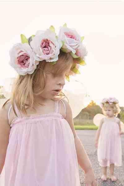 DIY Fairy Costume Tutorial with Flowy Chiffon