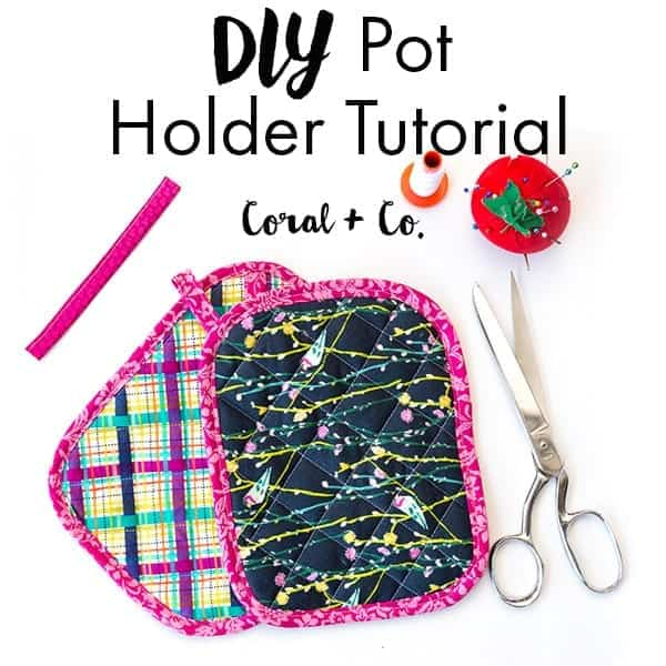 Free Quilted Potholder Pattern And Tutorial Easy Diy Potholders