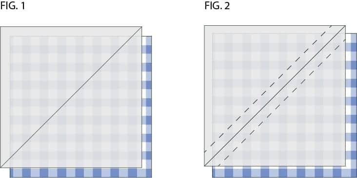 Making Half Square Triangles Tutorial Simple Half Square