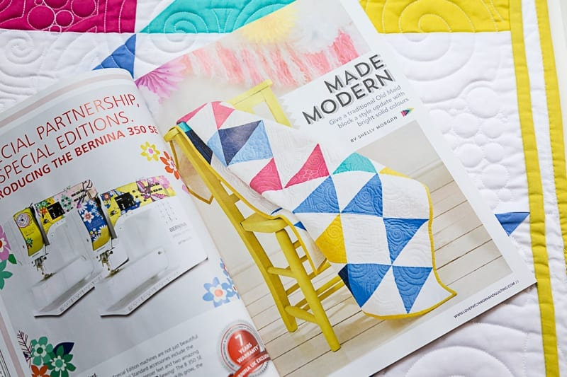 Made Modern My New Quilt Pattern In Love And Patchwork Magazine