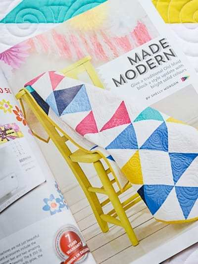 Made Modern – My New Quilt Pattern in Love and Patchwork Magazine Issue 48