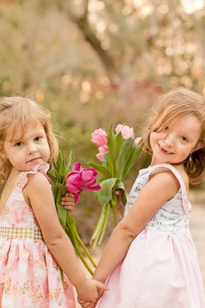 Pretty in Pink Dresses for Girls – The Simple Life Pattern Company