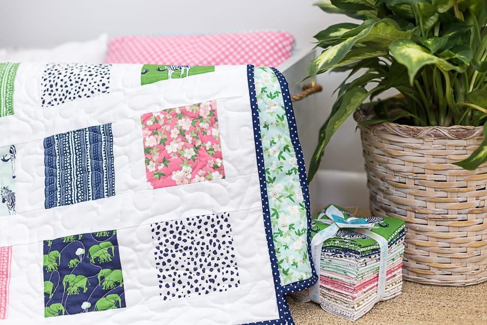 Easy Charm Square Quilt Pattern Free Beginner Quilt Pattern