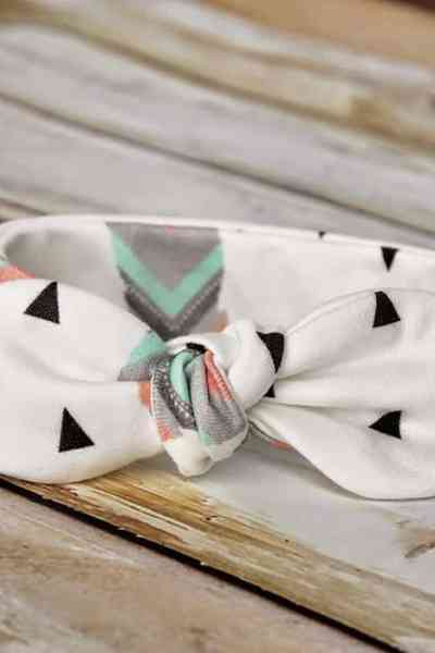 Easy DIY baby headband pattern free sewing – Knot Bow Headband Pattern and Tutorial