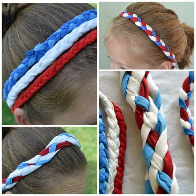 4th-of-july-knit-headbands-from-a-t-shirt