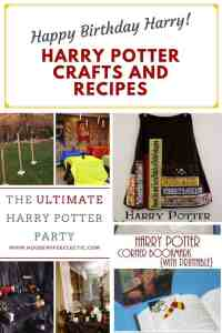 Harry Potter Crafts + Recipes