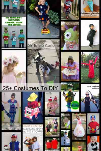 25+ Halloween Costumes to DIY