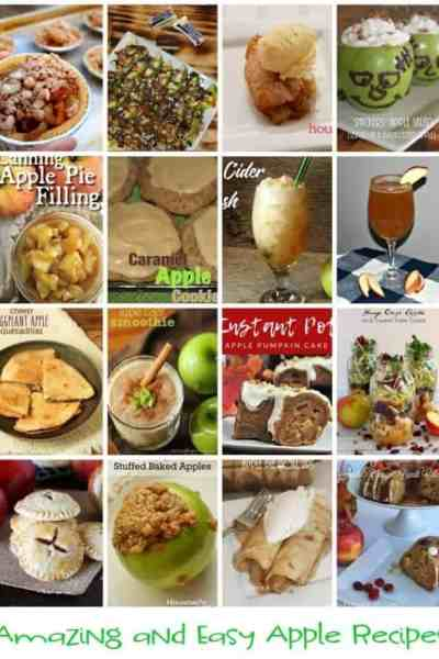 Amazing and Easy Apple Recipes!