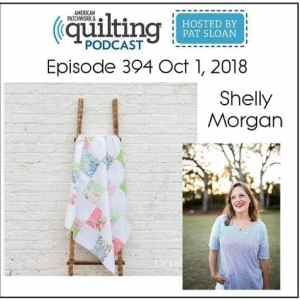 Find Me on the American Patchwork and Quilting Podcast!