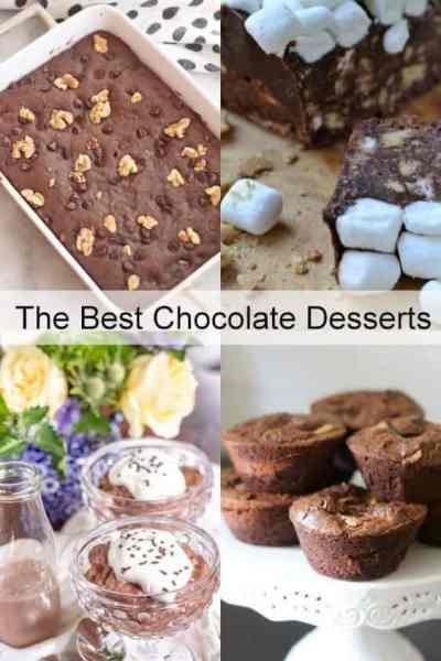 The Best Chocolate Desserts