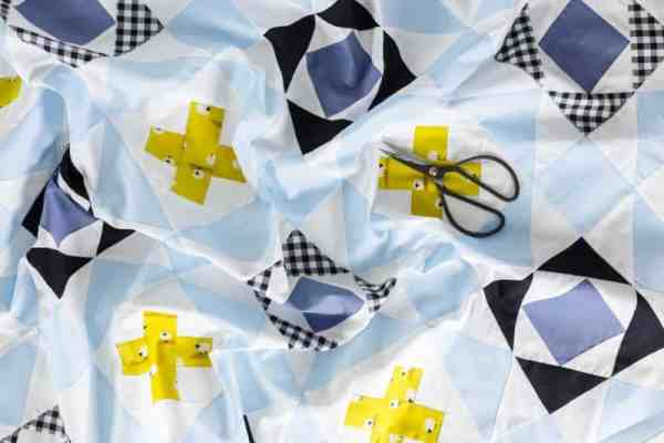 Modern Quilt Pattern Nordic Crossing