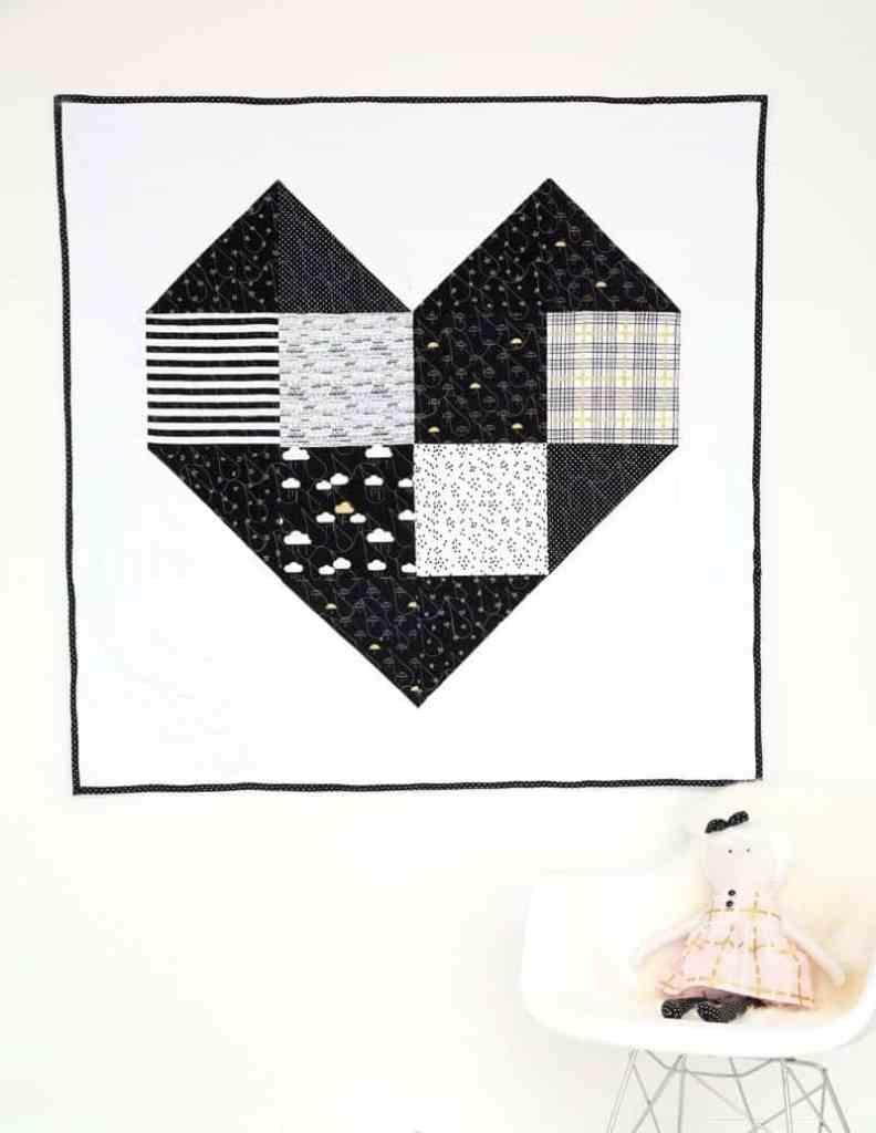 modern-giant-heart-quilt
