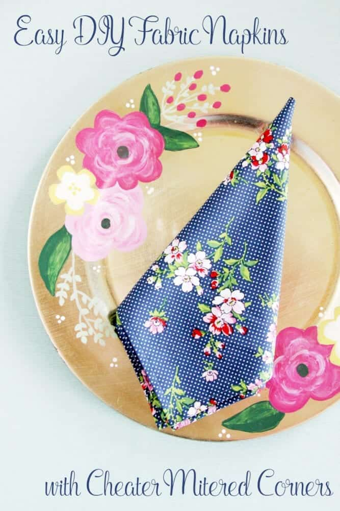 Fast and Easy Fabric Napkins -
