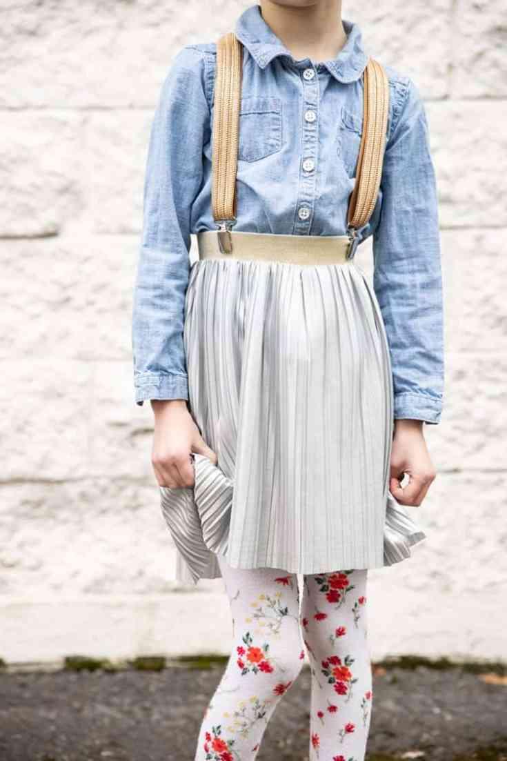 Simple Suspenders – Sewing Tutorial
