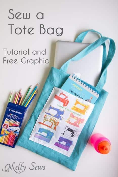 Sew a Tote Bag - Easy Beginner Sewing Project