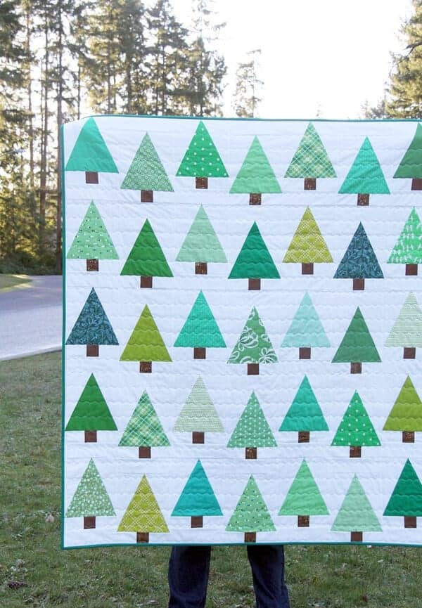 Evergreen Quilt + Tutorial