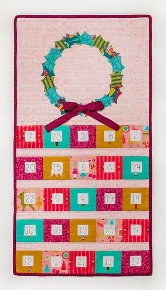 Christmas Cheer Advent Calendar PDF Pattern