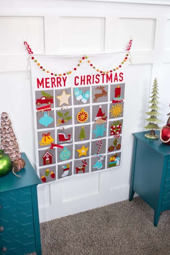 Christmas Advent Calendar   Cricut