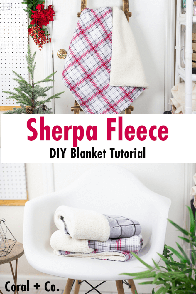 how-to-make-a-sherpa-fleece-blanket