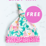 floral-top-knot-baby-hat