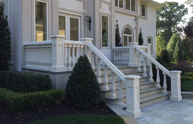 Concrete Balustrade Porch Railings Stair Railings