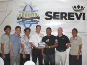 Serevi with Shang-ri La Team Coral Coast Sevens 2011