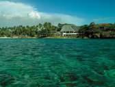 Ocean view of Shangri-La's Fijian Resort and Spa