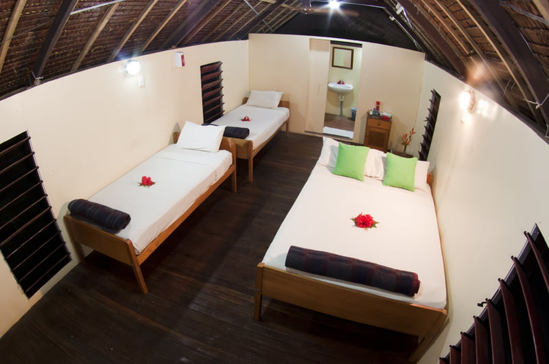 Mango Bay Resort – Fiji's first Flashpacker Resort - Interior Dormitory