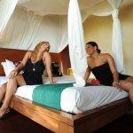 Mango Bay Resort – Fiji's first Flashpacker Resort - Beachfront Bure Interior