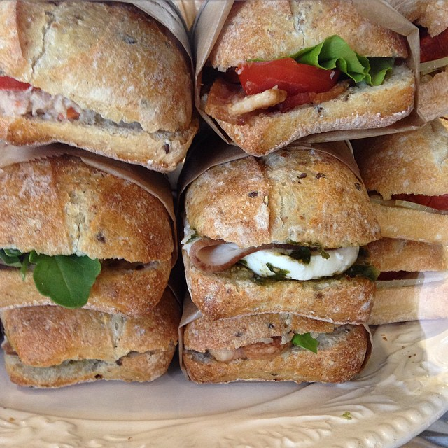 Cafe Curuba sells gourmet sandwiches for lunch in Coral Gables.