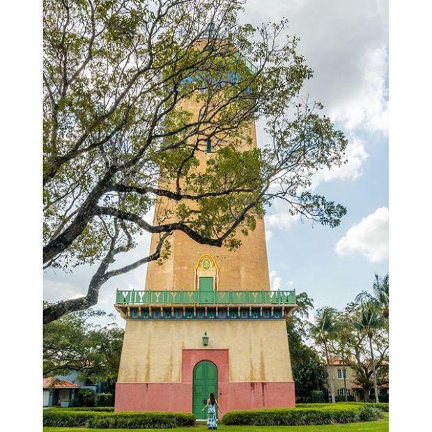 Historic Alhambra Tower Coral Gables Landmark