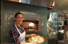 Cibo Wine Pizza Class finished result.
