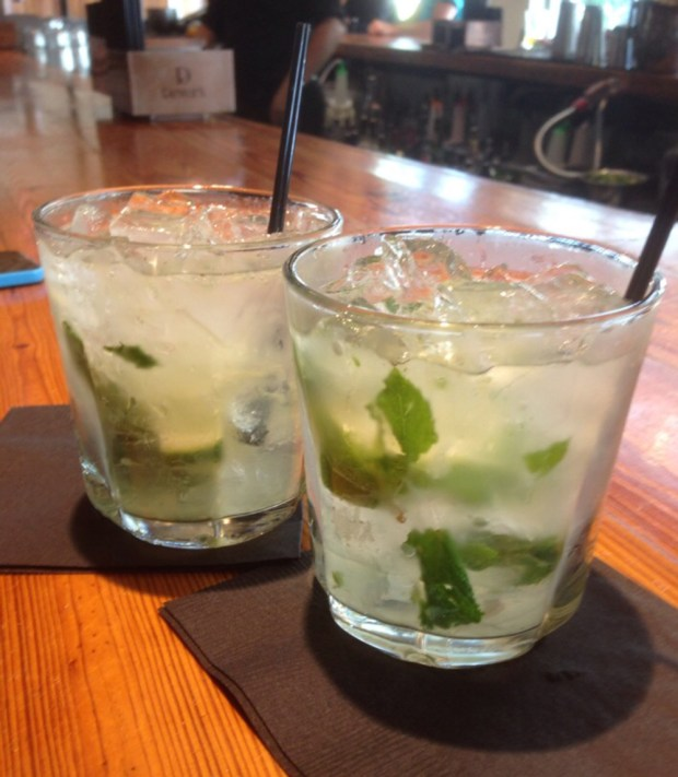 Tarpon Bend Happy Hour is known for their Mojitos.