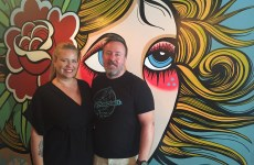 Ms Cheezious owners Brian and Fatima Mullins at the Coral Gables Location
