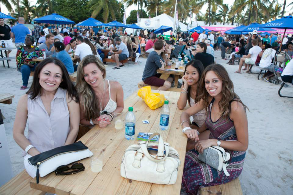 This is one of my favorite Miami food festivals. The South Beach Seafood Festival kicks off stone crab season with a luxurious dining experience on the sandy beaches with fine-dining restaurant pop ups and all-day open bar.