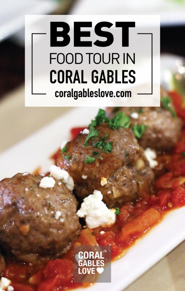 The best food tour in Coral Gables. Click to read more or pin and save for later! Miami | Florida | Things To Do